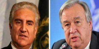 UN watching alarming situation in Occupied Kashmir: Antonio Guterres
