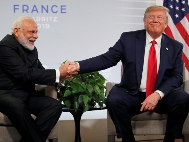 Pakistan, India can handle Kashmir issue on their own: Donald Trump