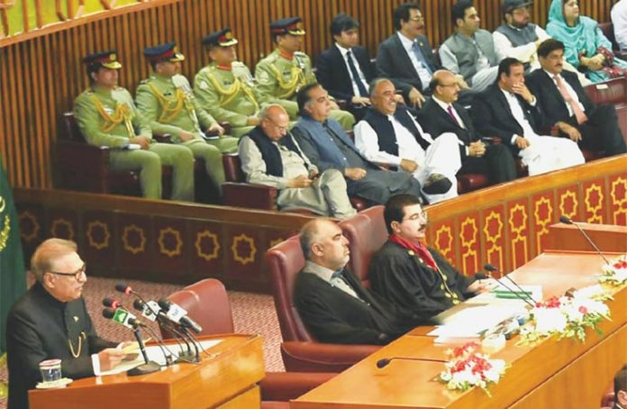 President to address joint parliamentary session on August 30: NA Secretariat