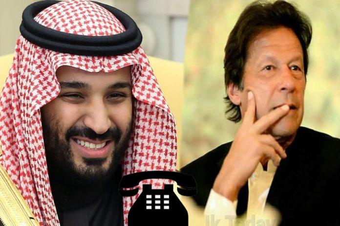 PM Imran, Saudi Crown Prince discuss regional situation