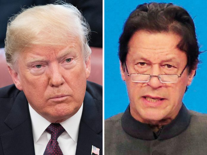 PM Imran, US President discuss prevailing situation in Occupied Kashmir