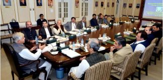 KP Cabinet adopts resolution against revocation of Article 370 by India