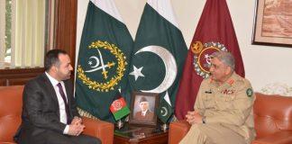 Afghan Ambassador calls on Army Chief Gen Bajwa