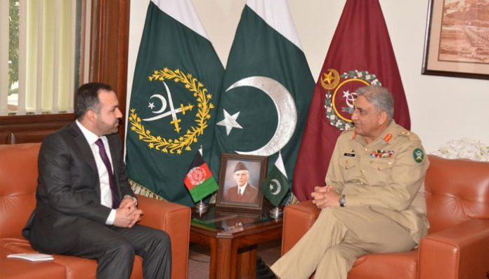Afghan Ambassador calls on Army Chief Gen Bajwa