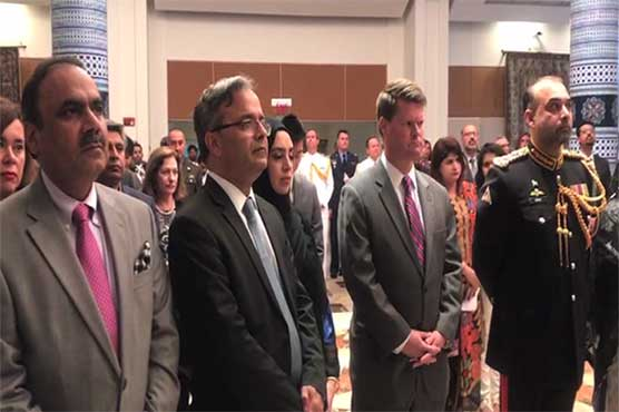 Defence Day ceremony held at Pakistan's Embassy in Washington
