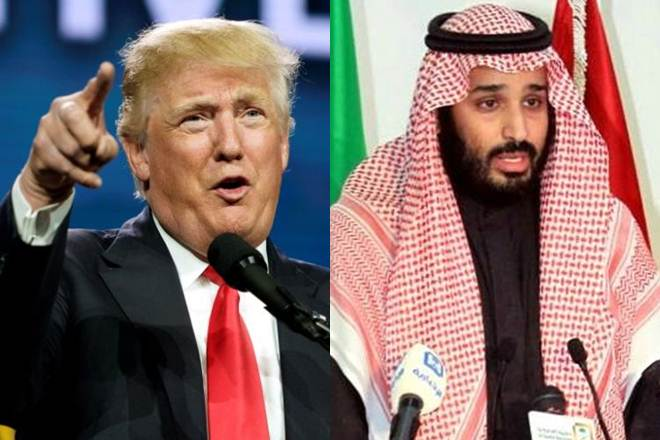 Trump tells Saudi leader US ready to help protect Saudi security