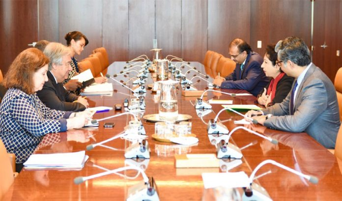 Pakistan urges UN to urgently take steps to deal with worsening situation in IOJ&K