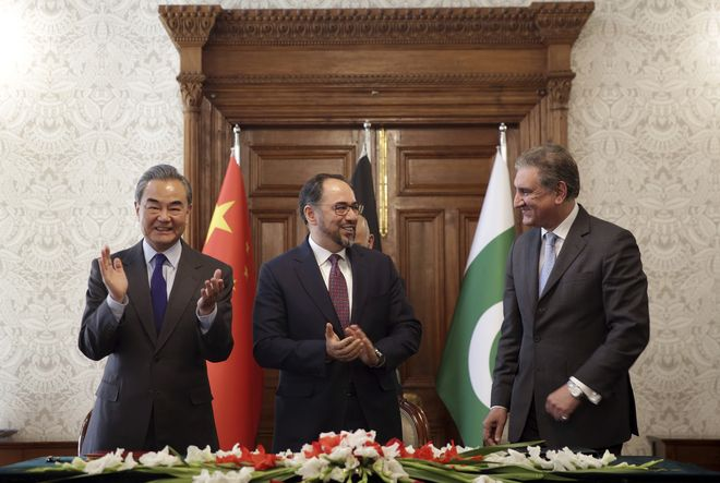 Pakistan-China-Afghanistan to hold trilateral dialogue today