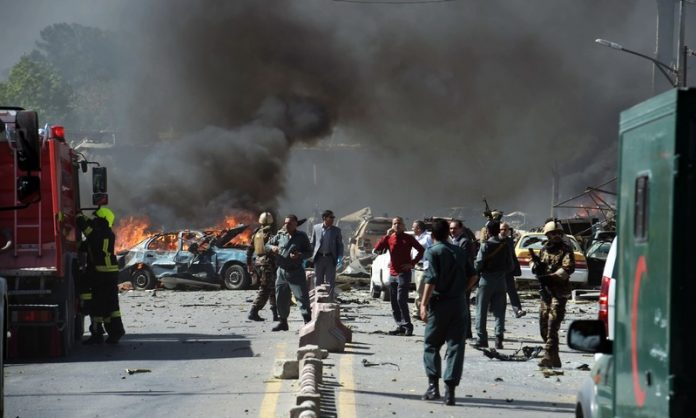 Taliban claim bomb attack in Afghan capital