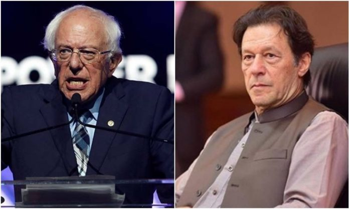 PM Imran, US Senator Sanders call attention to India's'unacceptable' actions in occupied Kashmir