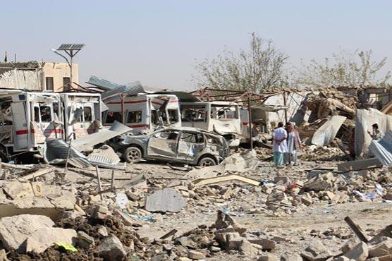Taliban truck bomb kills at least 20 in southern Afghanistan