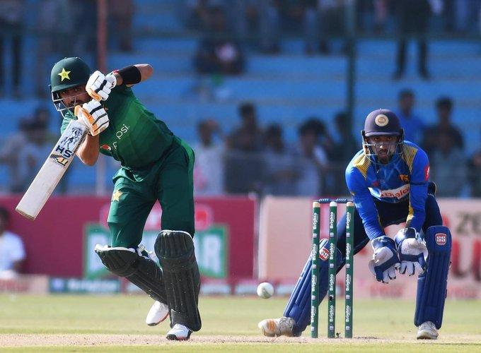 Babar ton help Pakistan set 306 runs target for Sri Lanka in 2nd ODI