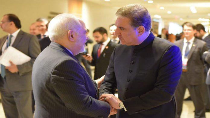 FM Qureshi, Iranian FM discuss regional, bilateral issues