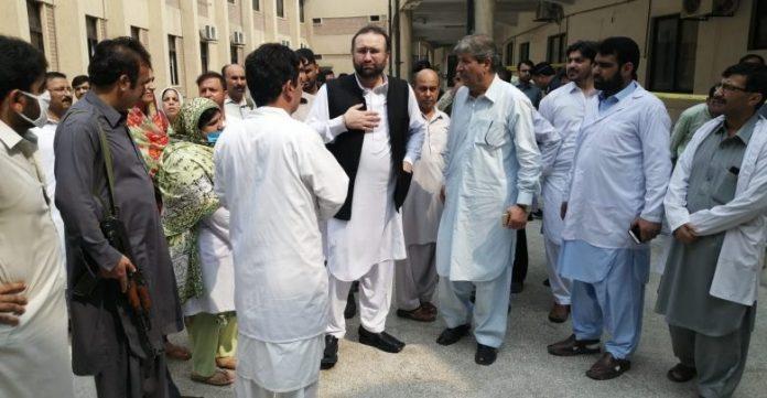 Four injured in gas explosion in Peshawar hospital
