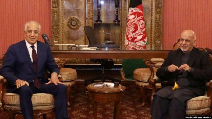 Zalmay Khalilzad in Kabul to brief Afghan president on peace efforts
