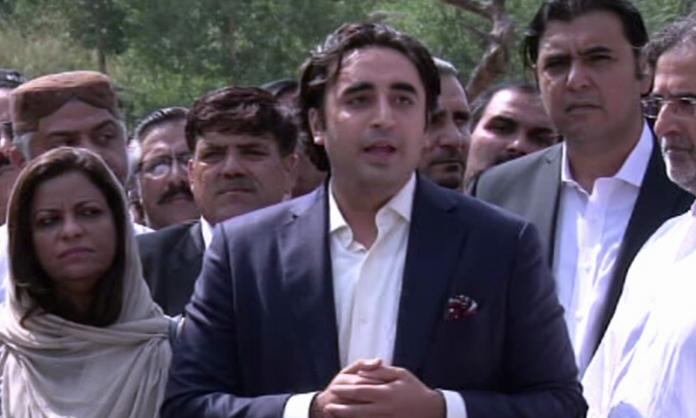 PPP won't participate in JUI-F's sit-in in Islamabad: Bilawal