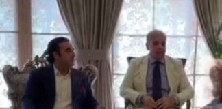 Shehbaz, Bilawal discuss political situation, JUI-F's Azadi March