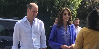 British royal couple visits Model College for Girls in Islamabad