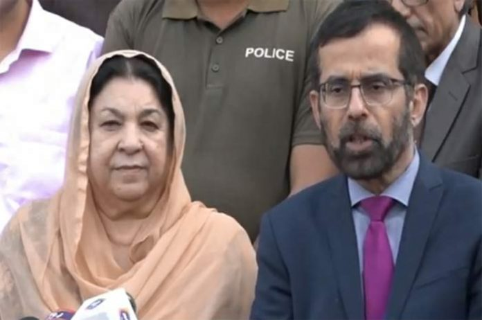 Nawaz Sharif suffered minor heart attack, stable now: Dr Yasmin