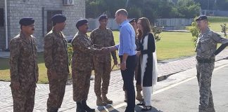 British royal couple visit Pakistan Army Canine Centre in Islamabad