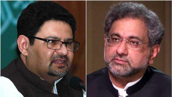 NAB freezes assets of Shahid Khaqan, Miftah Ismail