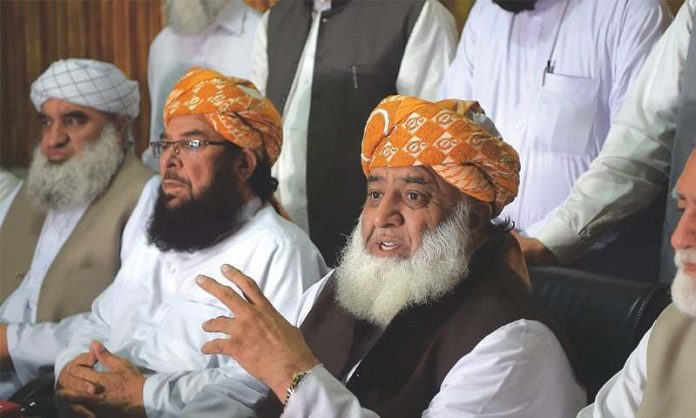 Fazlur Rehman asks govt to open educational institutions with SOPs