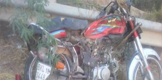 Five killed, two injured in road accident in DI Khan