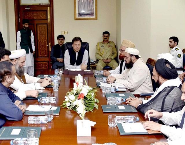 PM Imran Khan discuss madrassa reforms with Ulema's delegation