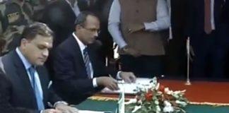 Pakistan, India sign agreement to operationalize Kartarpur Corridor