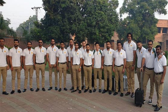 Pakistan cricket team depart for Australia for T20I and Test series