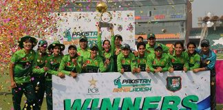 Pakistan women beat Bangladesh, win T20 series by 3-0