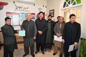 KP govt launches mobile app to recover missing children