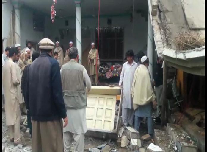 Three children injured in gas leakage blast in Charsadda