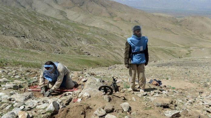 Landmine kills nine children in Afghanistan's Takhar province