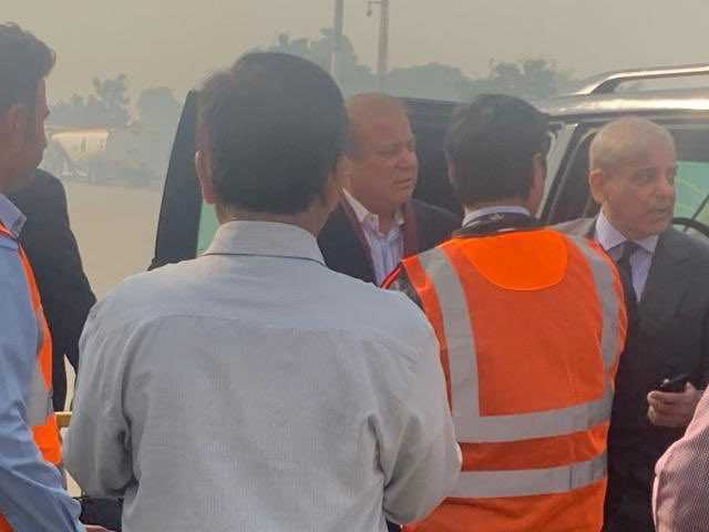 Nawaz Sharif departs for London for medical treatment