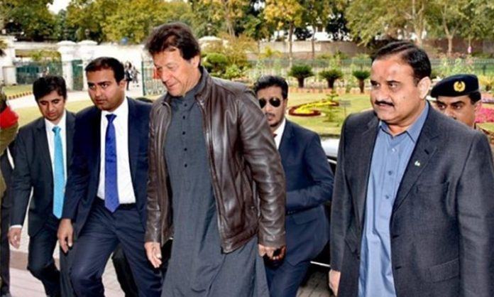 PM Imran Khan reaches Lahore on day-long visit