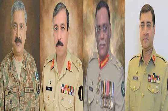 Pakistan Army announces high-level transfers, postings