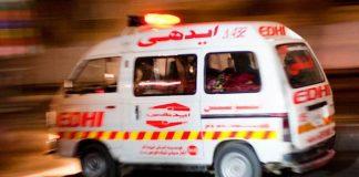 13 killed as coach collides with richshaw in Matiari