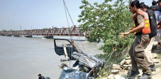 Six people die as car plunges into river in Barikot area of Upper Dir