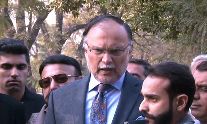 Ahsan Iqbal moves NAB to file reference against PM Imran