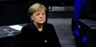 Chancellor of Germany visits the Auschwitz-Birkenau camp