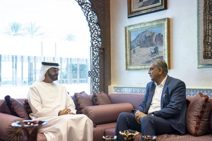 Abu Dhabi crown prince, Army Chief discuss means to enhance Pak-UAE cooperation