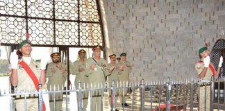 Quaid-e-Azam's vision will guide us to take Pakistan ahead: COAS