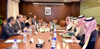 Saudi FM, Pakistani counterpart discusses bilateral ties and regional issues