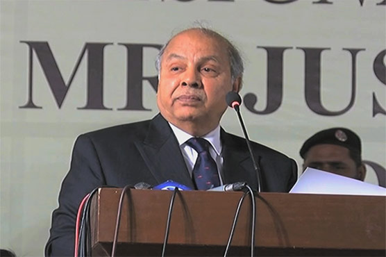 Constitution outlines roles of legislature, courts and govt: Justice Gulzar Ahmed