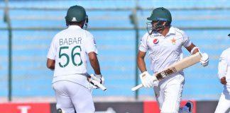 Pakistan declare innings at 555 runs, set Sri Lanka 476 runs to win