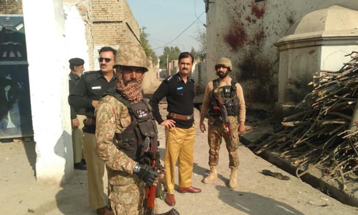 No casualties in suicide blast in Lakki Marwat