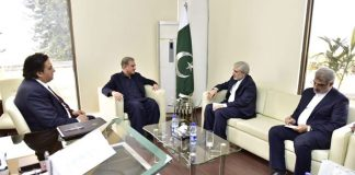 Pakistan reaffirms to play role to reduce tension in region