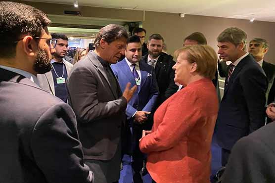 German Chancellor Angela Merkel invites PM Imran to visit Germany