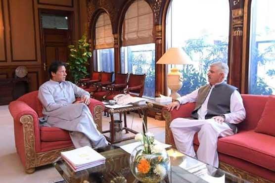 PM Imran, CM Mahmood discuss matters pertaining to Khyber Pakhtunkhwa